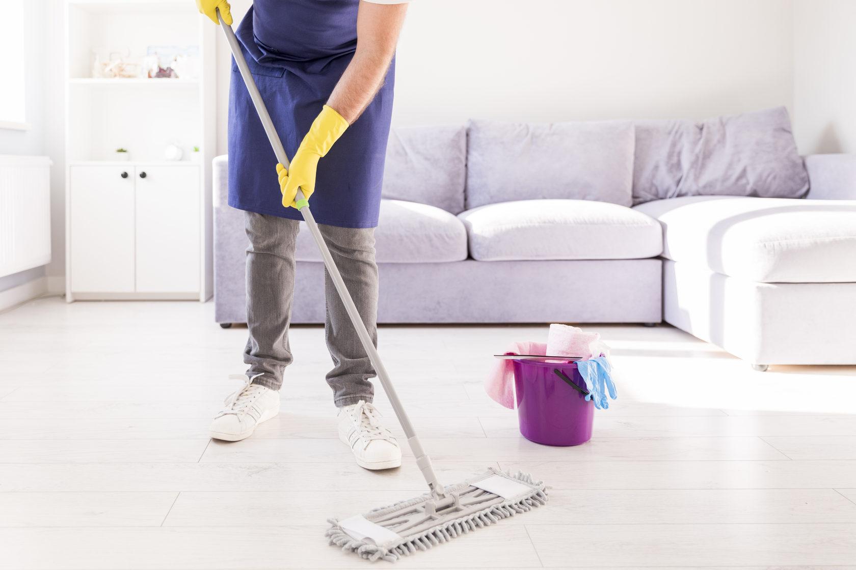 Регулярная уборка дома